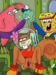 Sponge Bob and friends fuck...